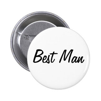 Best Man Badge