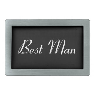 Best Man Belt Buckle