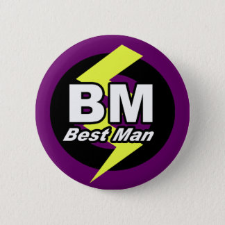 Best Man Button