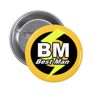 Best Man Button