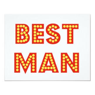 Best Man Card