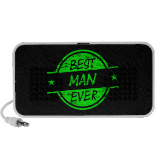 Best Man Ever Green Travel Speakers