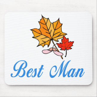 Best Man - fall Mouse Pads