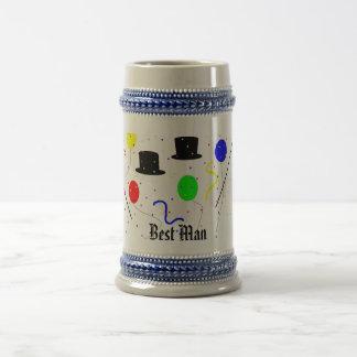 , Best Man gift Beer Stein