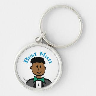 Best Man Key Chain