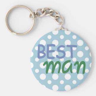 Best Man Keychain