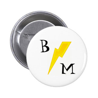 Best Man Lightning Bolt Pin