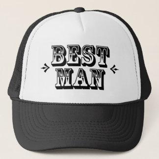 Best Man - Old West Trucker Hat
