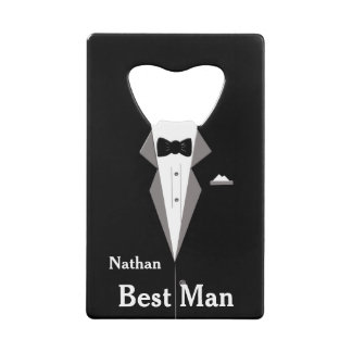 Best Man Personalise Bottle Opener