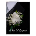 Best Man Request Greeting Card