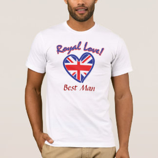 Best Man Royal Wedding T-Shirt