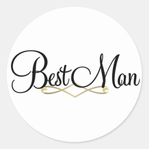 Best Man Sticker