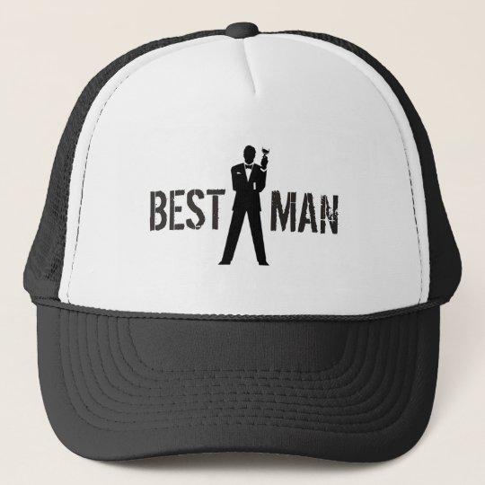5fdeb0fd Best Man Toast Trucker Hat | Zazzle.co.uk