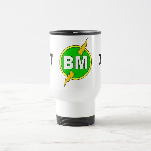 Best Man Travel Mug - White