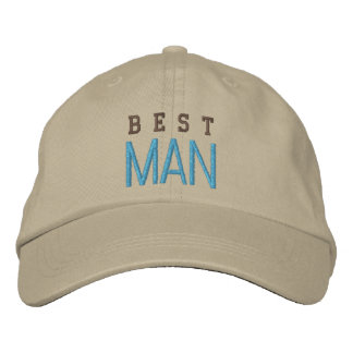 Best Man wedding spirit bachelor blue baseball cap