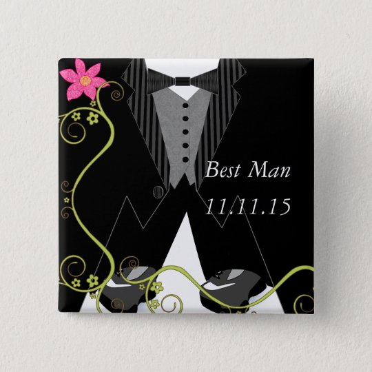 Best ManTuxedo Bow Tie Tennis Shoe Wedding Badges