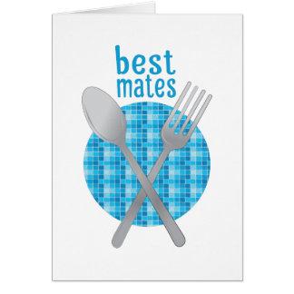 Best Mates Greeting Card