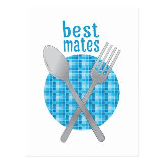 Best Mates Postcard
