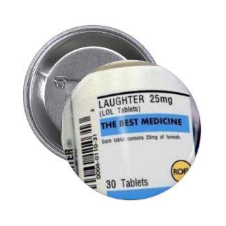 Best Medicine Pinback Button