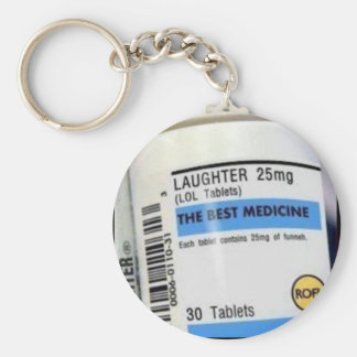 Best Medicine Basic Round Button Key Ring
