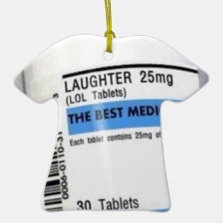Best Medicine Christmas Tree Ornament