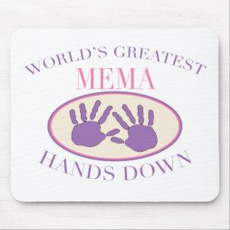 Best MeMa Hands Down T-shirt Mouse Mat