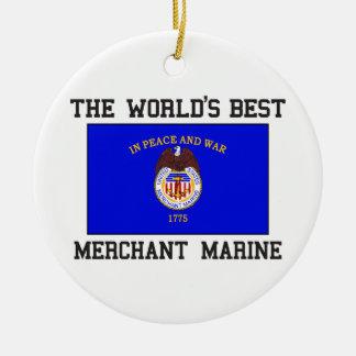 Best Merchant Marine Christmas Ornament