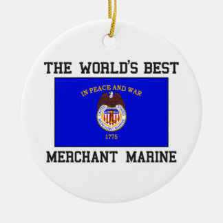 Best Merchant Marine Round Ceramic Decoration