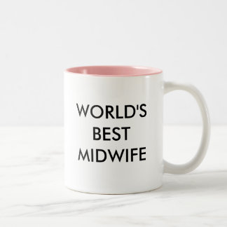 Best Midwife Two-Tone Coffee Mug