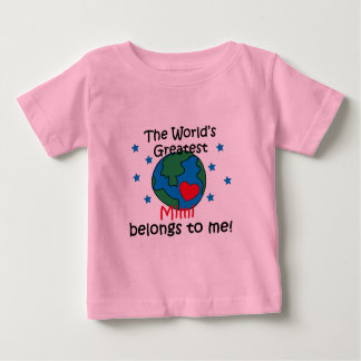 Best Mimi Belongs to me Baby T-Shirt
