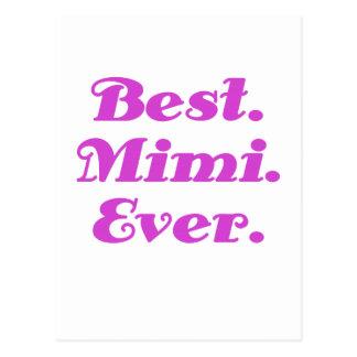 Best Mimi Ever Postcard