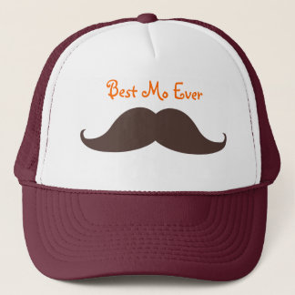 Best Mo Ever Trucker Hat