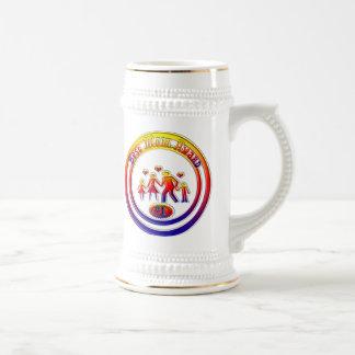 Best Mom Award Rainbow Family Coffee Mugs