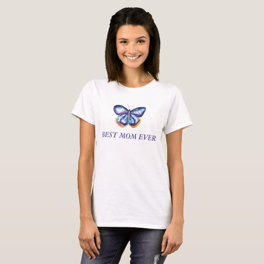 Best Mom Butterfly Women T-shirt
