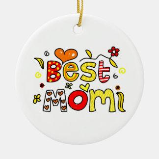 Best Mom Christmas Ornament