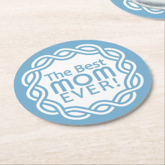 BEST MOM coasters