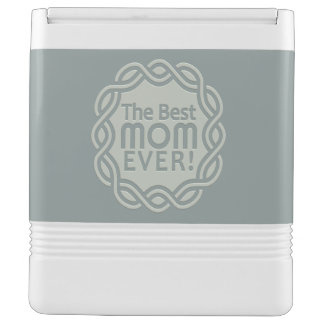 BEST MOM custom monogram cooler Igloo Cooler