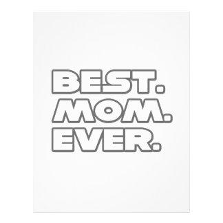 Best Mom Ever 21.5 Cm X 28 Cm Flyer