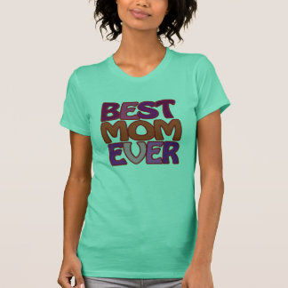BEST MOM EVER fun red pink purple logo T-Shirt
