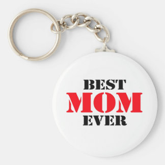 Best Mom Ever Key Ring