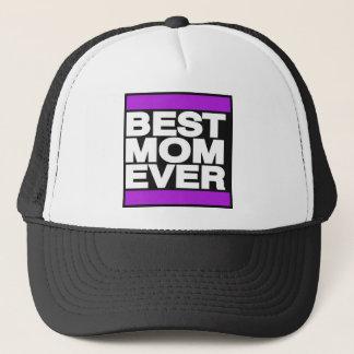 Best Mom Ever Purple Trucker Hat