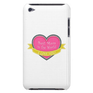 Best Mom in the World Barely There iPod Case