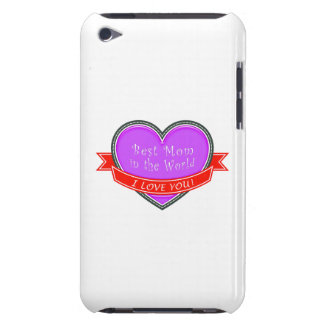 Best Mom in the World Barely There iPod Covers