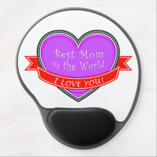 Best Mom in the World Gel Mouse Pad
