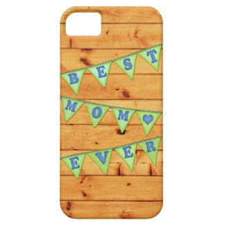Best Mom Pennant Case-Mate iPhone 5 Barely There iPhone 5 Cases