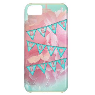 Best Mom Pennant Case-Mate iPhone 5 Barely There Case For iPhone 5C