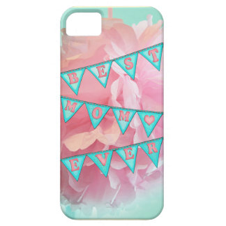 Best Mom Pennant Case-Mate iPhone 5 Barely There iPhone 5 Case