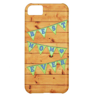 Best Mom Pennant Case-Mate iPhone 5 Barely There iPhone 5C Cases