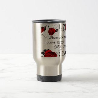 Best Mom Stainless Steel Travel Mug