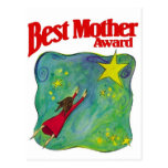 Best Mother Award Gifts Postcards